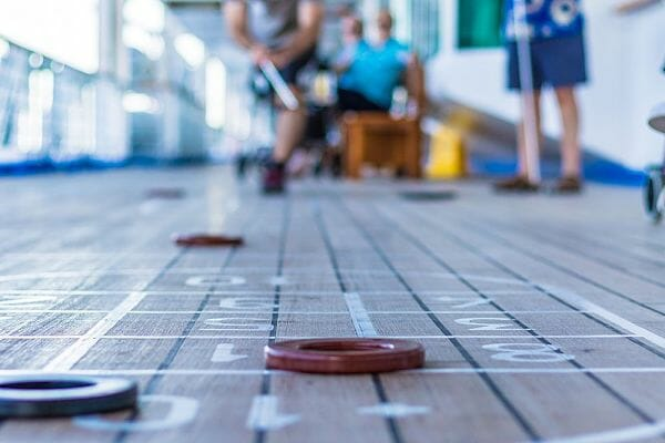 <h3>Master the art of shuffleboard</h3>