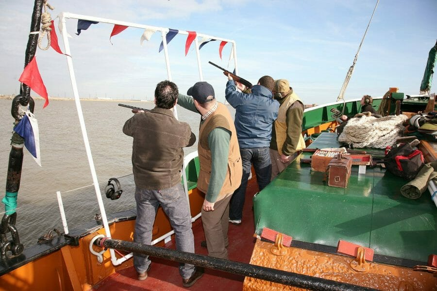 <h3>Clay Pigeon Shooting on the Thames</h3>