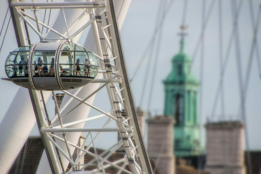 <h3>The London Eye</h3>